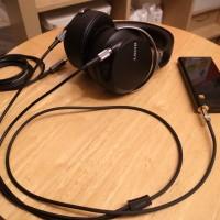 SONY Walkman NW-ZX2用4極プラグカスタム